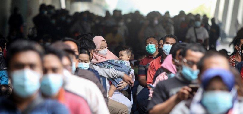 CORONAVIRUS CASES TOP 3M IN INDONESIA, DEATH TOLL HITS NEW PEAK