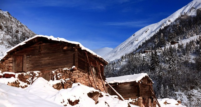 The foothills of Kaçkar Mountains
