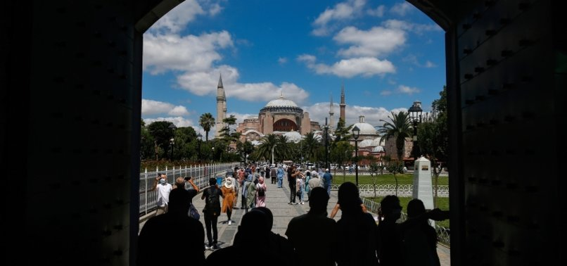 PAKISTANI, INDONESIAN MUSLIM GROUPS HAIL TURKEYS HAGIA SOPHIA MOVE