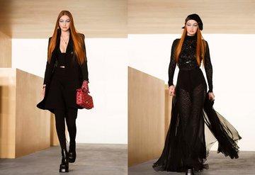 Gigi Hadid Versace İle Podyuma Döndü