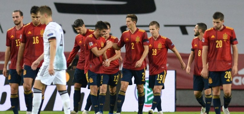 SPAIN THRASH GERMANY 6-0 IN UEFA NATIONS LEAGUE GROUP GAME