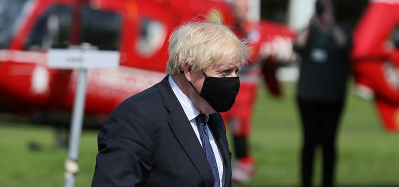 UK WILL BE RUTHLESS OVER QUARANTINE, JOHNSON SAYS
