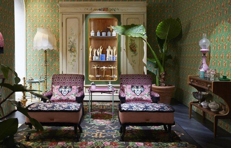 Gucci, Milano'da açtığı dekorasyon mağazası ile evlerin stiline de imzasını atacak.