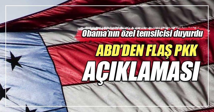 Flaş PKK açıklaması ABD'den geldi