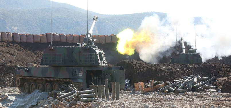 TURKISH MILITARY FORCES DESTROY 924 TERROR TARGETS DURING OPERATION OLIVE BRANCH