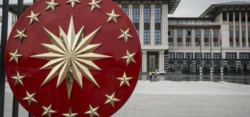 ANKARA APPOINTS NEW AMBASSADORS, CHIEF ADVISERS TO PRESIDENT
