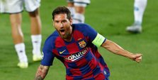 Messi helps Barcelona sink Napoli to reach last eight