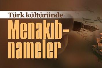 Türk kültüründe menakıbnameler