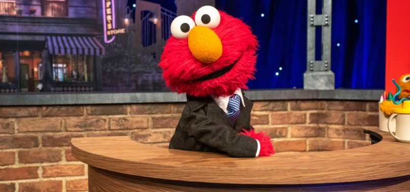 MUPPET ELMO READIES FOR HIS OWN STARRY HBO MAX TALK SHOW