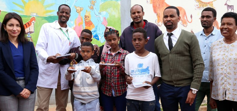 TURKEY DONATES SCHOOL SUPPLIES IN ETHIOPIA FOR STUDENTS