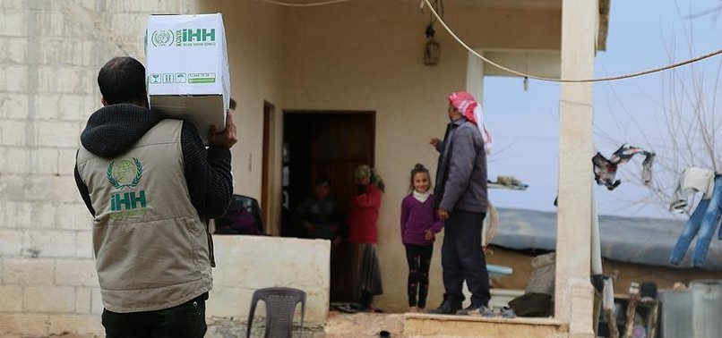 IHH SENDS AID TO 900 FAMILIES IN LIBERATED AREAS IN AFRIN