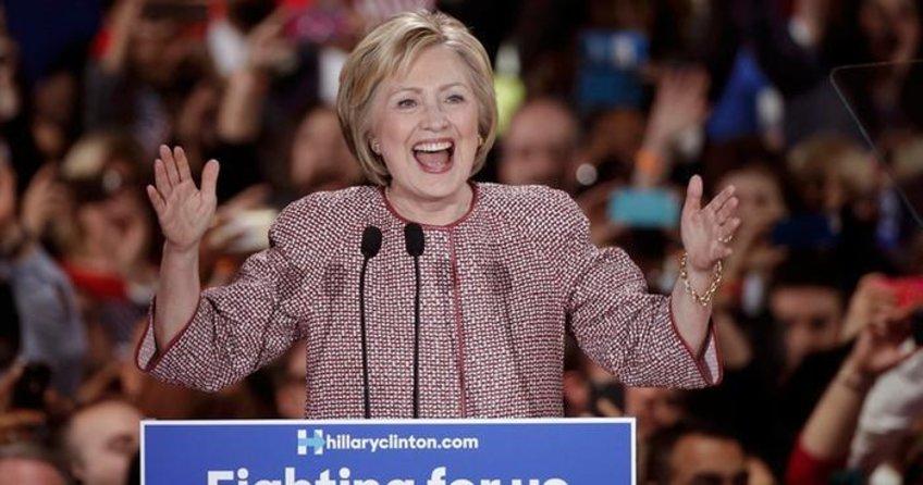 İlk sonuçlar gelemeye başladı. O köyde Clinton kazandı!