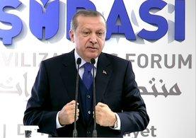 Cumhurbaşkanı Erdoğan'dan Trump'a ince mesaj