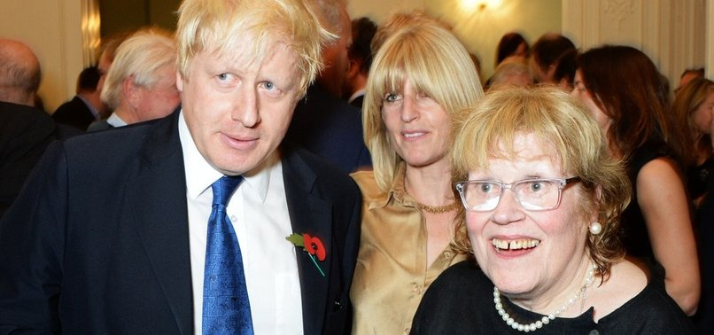 UK PM JOHNSONS MOTHER DIES AGED 79 -THE TELEGRAPH