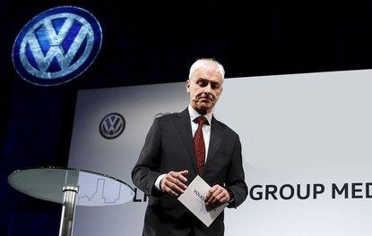 Volkswagen CEO'su Müllerden skandal dizel testi açıklaması geldi