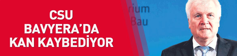 CSU Bavyera'da kan kaybediyor