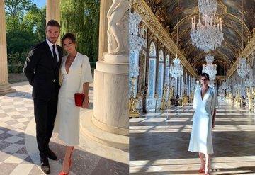 Beckham Çiftinin 20nci yıl kutlaması