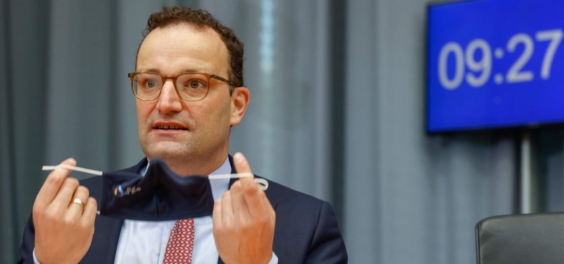GERMANYS HEALTH MINISTER TESTS POSITIVE FOR CORONAVIRUS