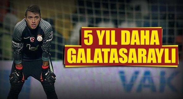 5 yıl daha Galatasaraylı