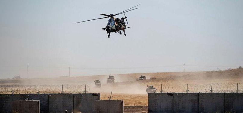 TURKEY, US CONTINUE SAFE ZONE PATROLS IN NORTHERN SYRIA