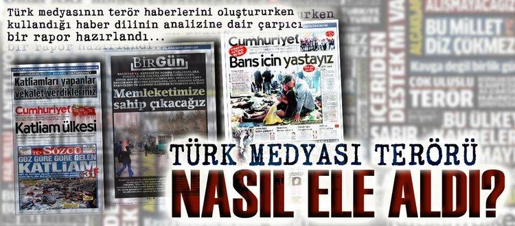 Türk medyası terörü nasıl ele aldı?