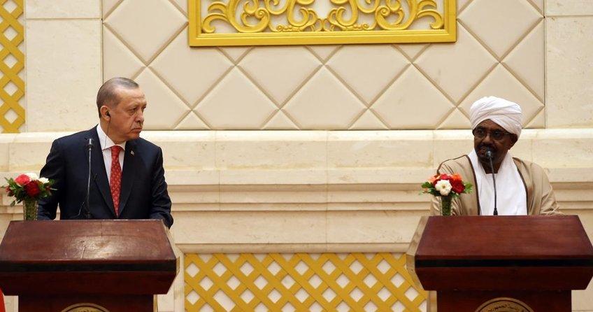 Erdoğan ve El Beşirden ortak bildiri