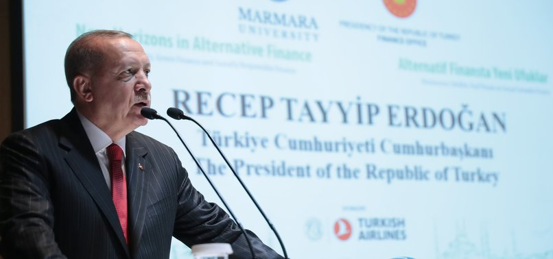 ERDOĞAN SAYS ISTANBUL FINANCE CENTER WILL BE COMPLETED IN 2022