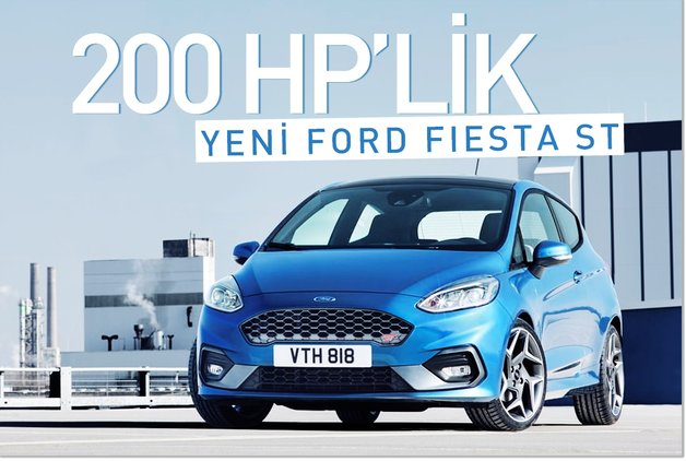 200 HP'lik yeni Ford Fiesta ST
