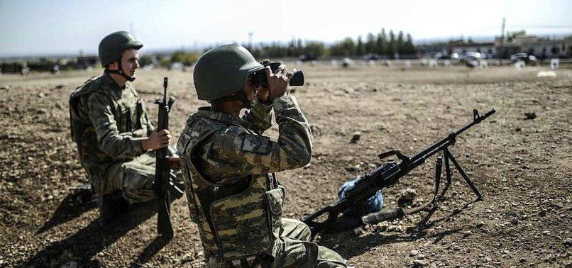 TURKISH FORCES NEUTRALIZE 4 YPG/PKK TERRORISTS IN N.SYRIA