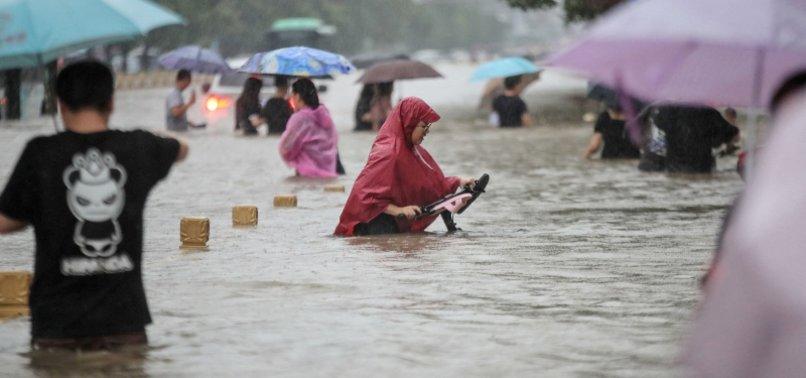 HEAVY RAINFALL KILLS 25 IN CENTRAL CHINAS HENAN PROVINCIAL CAPITAL