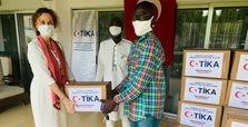 Turkish aid agency TIKA distributes food packages in Ghana