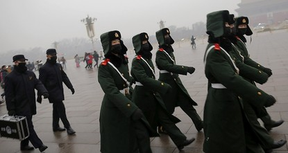 pEnvironmental authorities in China have advised 23 northern cities to issue red alerts, the highest possible air pollution warning, on Friday evening, against the worst smog the country has...
