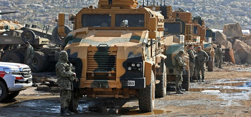 YPG/PKK TERRORISTS ATTACK TURKISH MILITARY CONVOY IN IDLIB, KILL 1 CIVILIAN, INJURE 2 OTHERS