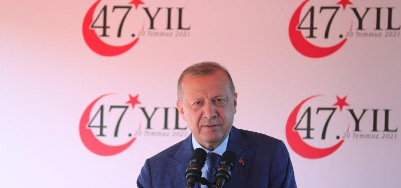 TURKEYS ERDOĞAN REITERATES 2-STATE SOLUTION TO CYPRUS ISSUE