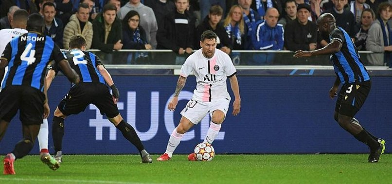 MESSIS PARIS ST GERMAIN DISAPPOINT IN BRUGGE DRAW