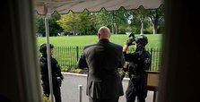 White House guards shoot person, briefly evacuate Trump