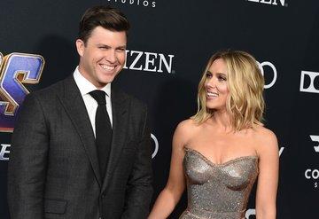 Scarlett Johansson ile Colin Jost nişanlandı