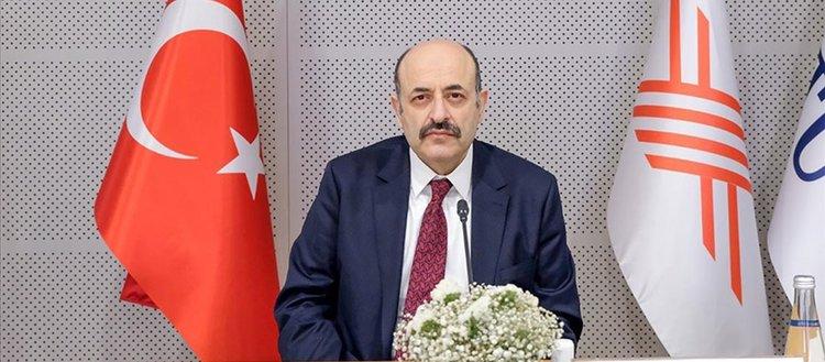 YÖK Başkanı Saraç: Sistem artık başarıya endeksli bir şekilde gelişmektedir