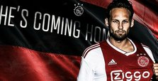 Blind returns to Ajax after Man Utd stint