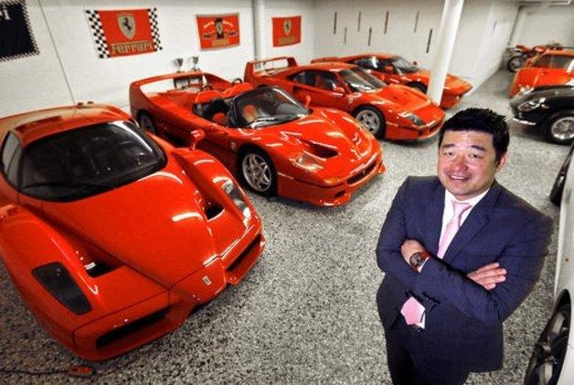 Ferrari koleksiyoncusu David Lee'ye Ferrari'den ret!