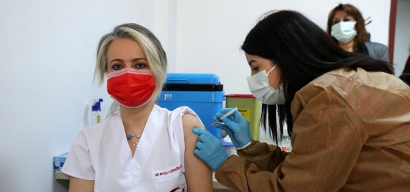 MORE THAN 650,000 HEALTH CARE WORKERS GET COVID-19 VACCINE IN TURKEY IN 3 DAYS