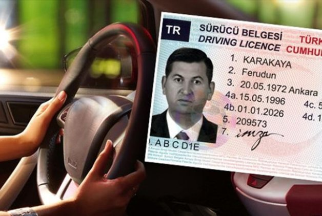 Ehliyetini unutana 206 lira ceza