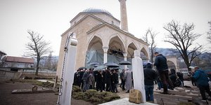 Bosna Savaşında yok olan Alaca Camisi küllerinden doğacak