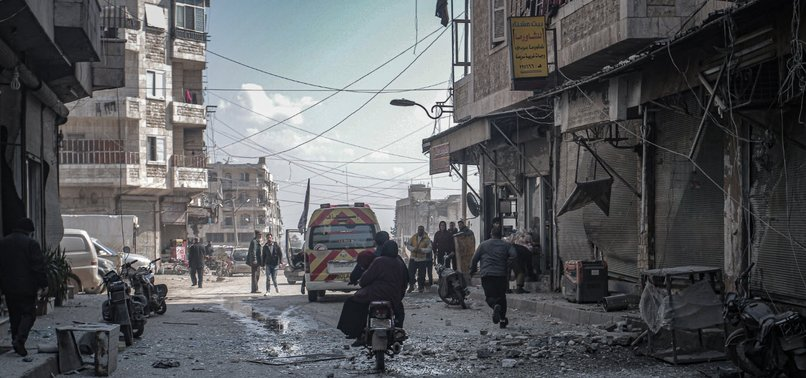 US DAILY SLAMS 'MUTED REACTION' TO IDLIB OFFENSIVE