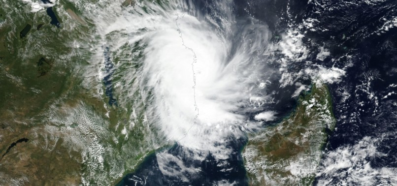 CYCLONE KENNETH MAKES LANDFALL IN STORM-BATTERED MOZAMBIQUE