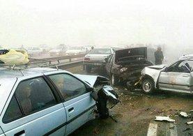 İran'da korkunç kaza!