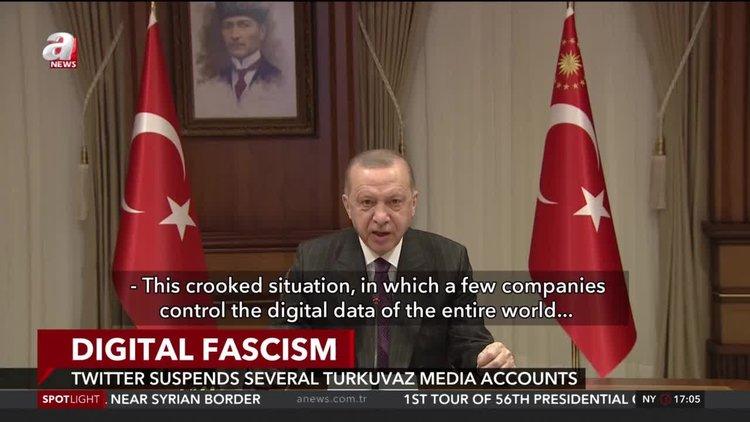 Twitter suspends several Turkuvaz media accounts