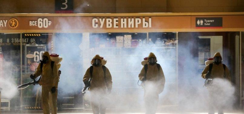 RUSSIA REPORTS MORE THAN 5,500 NEW CORONAVIRUS CASES