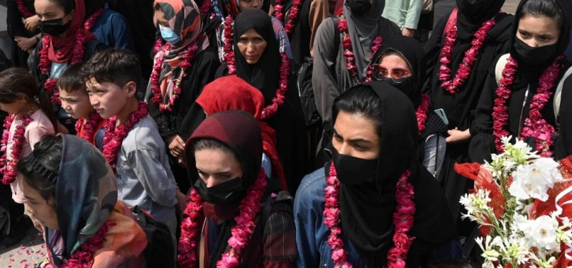 AFGHAN WOMEN FOOTBALLERS ARRIVE IN PAKISTAN, ESCAPING TALIBAN THREAT