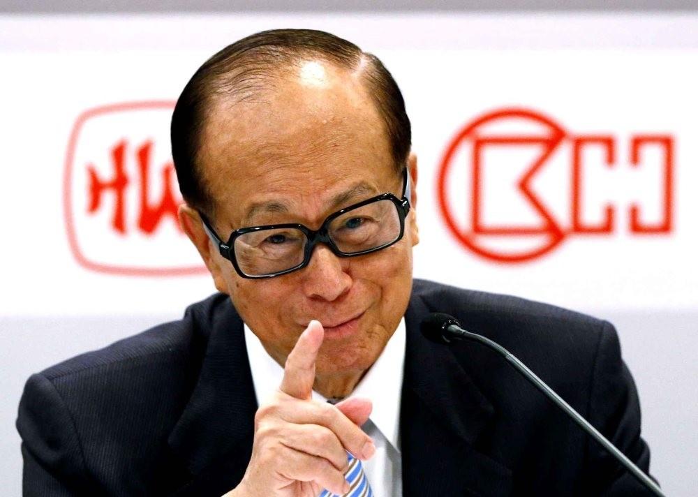 Hong Kong billionaire tycoon Li Ka-shing